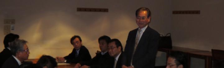 「同志社校友会 北九州支部 役員会」開催結果のご報告 2014.11.12(水)開催