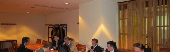 「同志社校友会北九州支部 役員会」開催結果のご報告 2015.03.11(水)開催