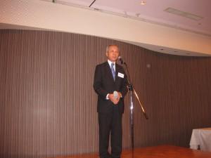 主催者挨拶:福井佐賀県支部長